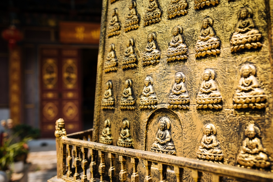 Buddhist Temple, Jianshui, Yunnan Province, China