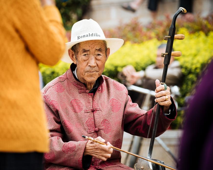 Local Musicians, Jianshui, Yunnan Province, China