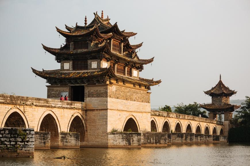 Twin Dragon Bridge (Shuanglong Qiao), Jianshui, Yunnan Province, China