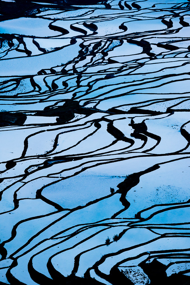 Rice Terraces at Bada, Yuanyang, Yunnan Province, China