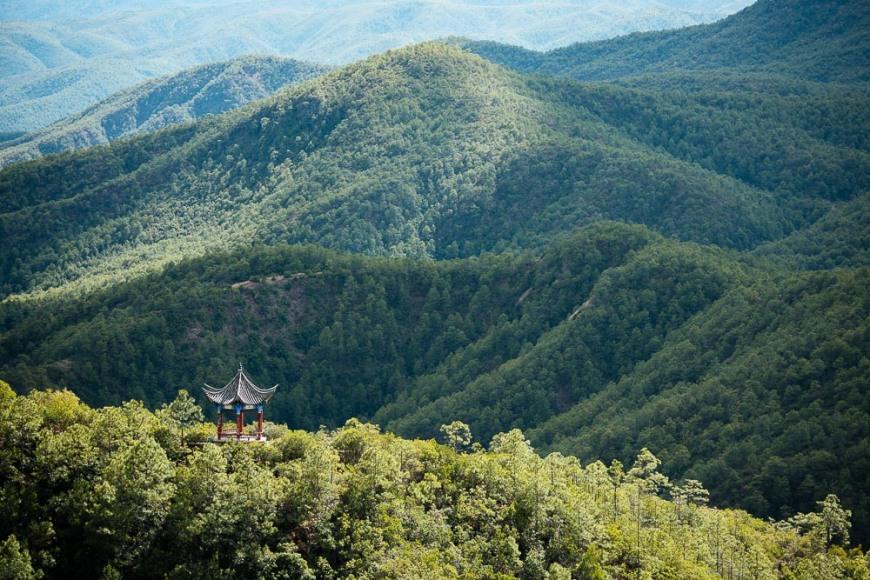 Landscape near Shibaoshan, Shaxi, Yunnan Province, China