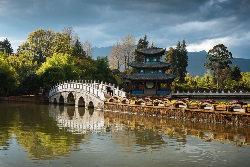 Black Dragon Pool Park, Lijiang, Yunnan Province, China
