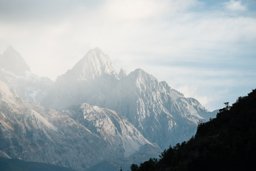 Yulong Xueshan (Jade Dragon) Mountain, Lijiang, Yunnan Province, China