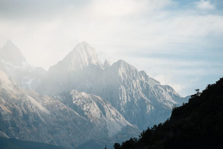 Yulong Xueshan (Jade Dragon) Mountain, Lijiang, Yunnan Province, China
