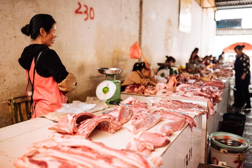 Zhongyi Market, Lijiang, Yunnan Province, China