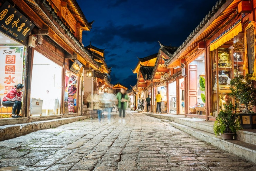 Old Town of Lijiang, Yunnan Province, China