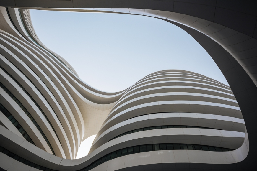 Galaxy Soho Building (designed by Zaha Hadid), Beijing, China