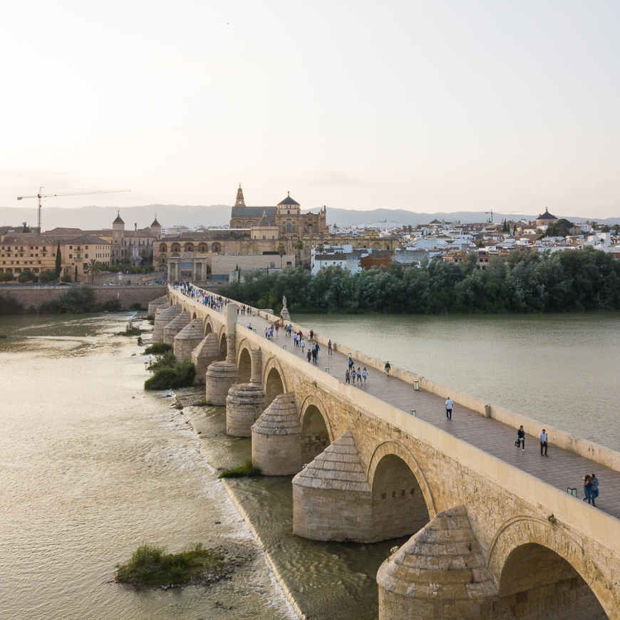 Roman Bridge, Cordoba, Andalucia, Spain