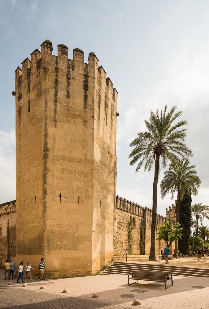 Exterior of Alcazar, Cordoba, Andalucia, Spain