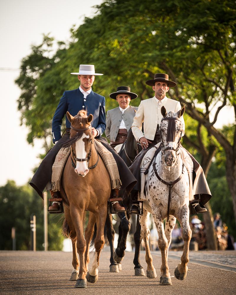 3 Horsemen, Feira de Cordoba, Cordoba, Andalucia, Spain
