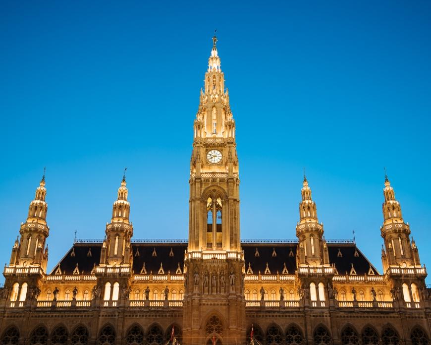 Rathaus Town Hall, Vienna, Austria