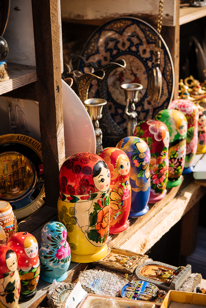 Souvenir Stall, Baku, Azerbaijan