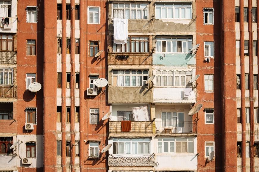 Housing Estate, Ganja, Azerbaijan