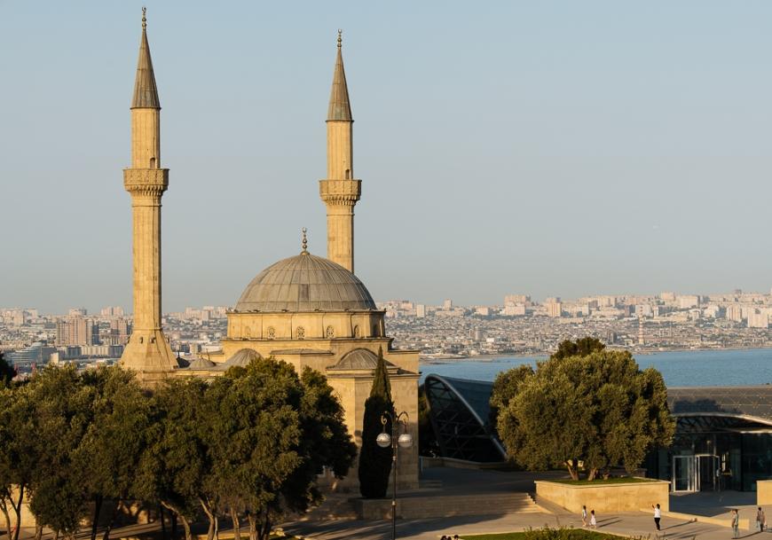 The Shahid Mosque, Baku, Azerbaijan