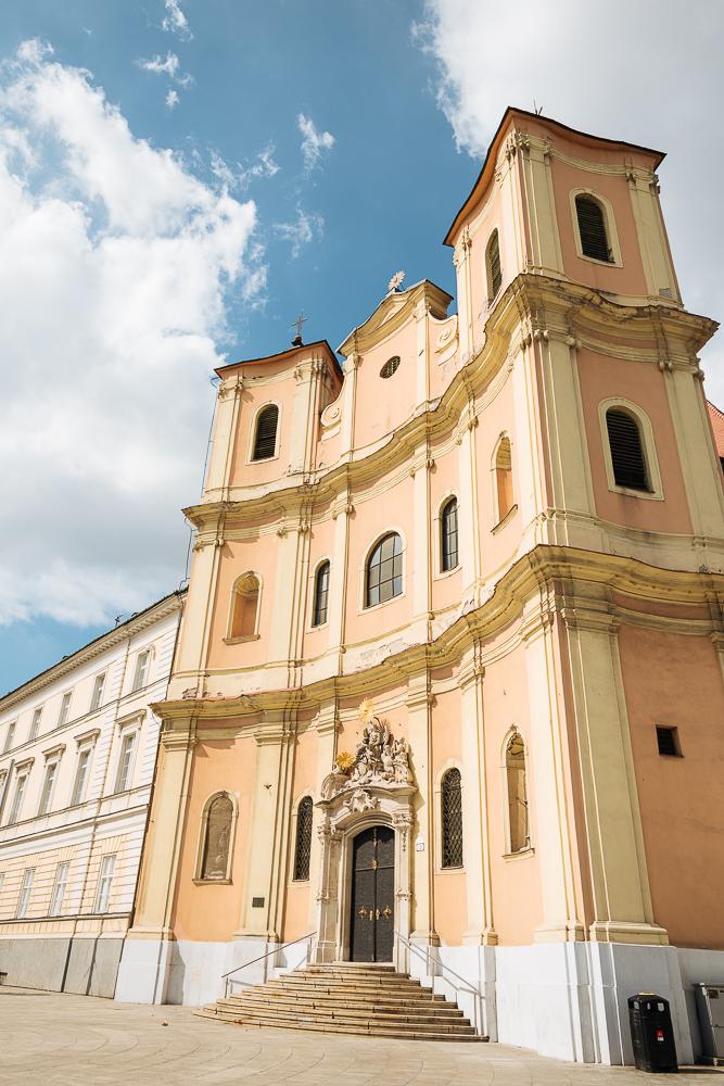 Trinity Church, Old Town, Bratislava, Slovakia
