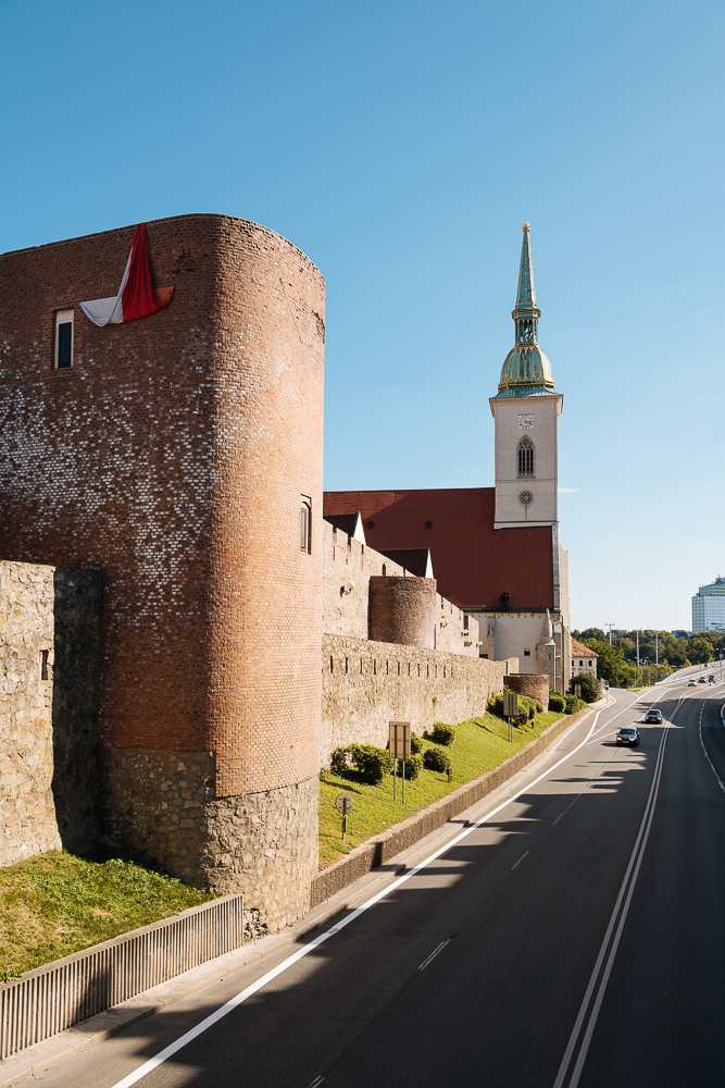 Old Town Walls and St. Martin's Cathedral, Bratislava, Slovakia