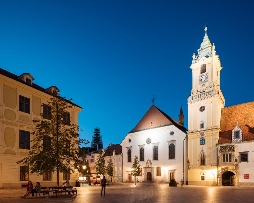 Town Hall, Old Town, Bratislava, Slovakia