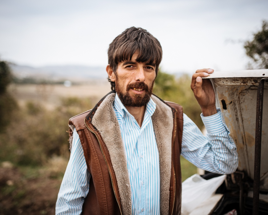 Portrait of Sohret the Tea seller, Ganja, Azerbaijan
