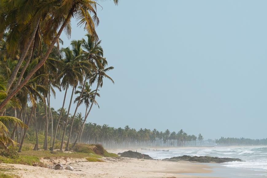 Mankwadze Beach, Ghana, Africa