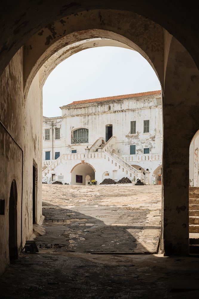 Cape Coast Castle, Cape Coast, Ghana, Africa