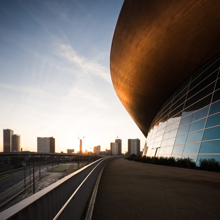 Aquatics Centre, Stratford, London, UK