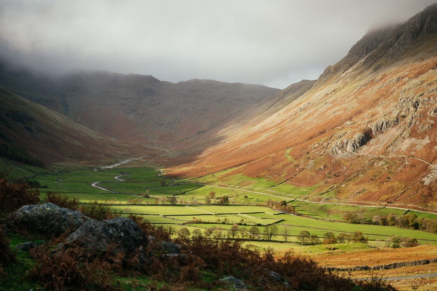 Langdale Valley, Lake District, Cumbria, England, United Kingdom