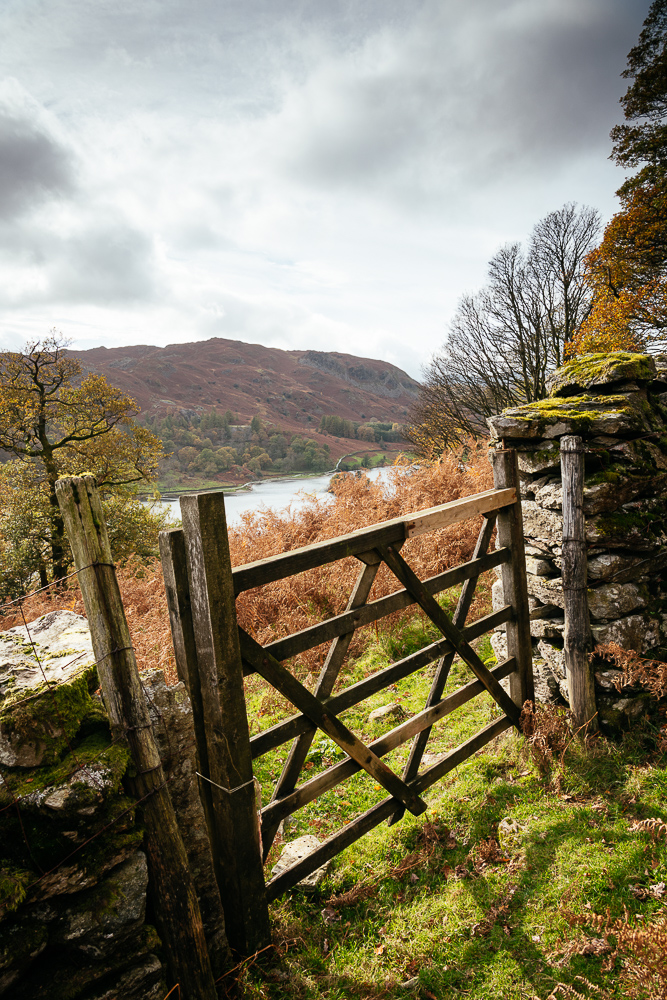 Landscape near Ambleside, Lake District, Cumbria, England, United Kingdom