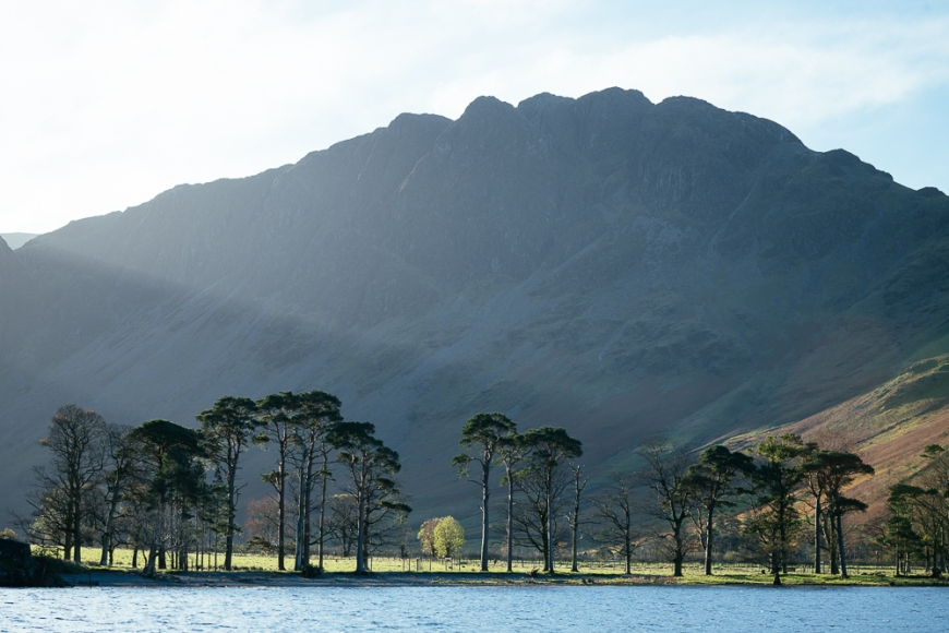 Buttermere at dawn, Lake District, Cumbria, England, United Kingdom