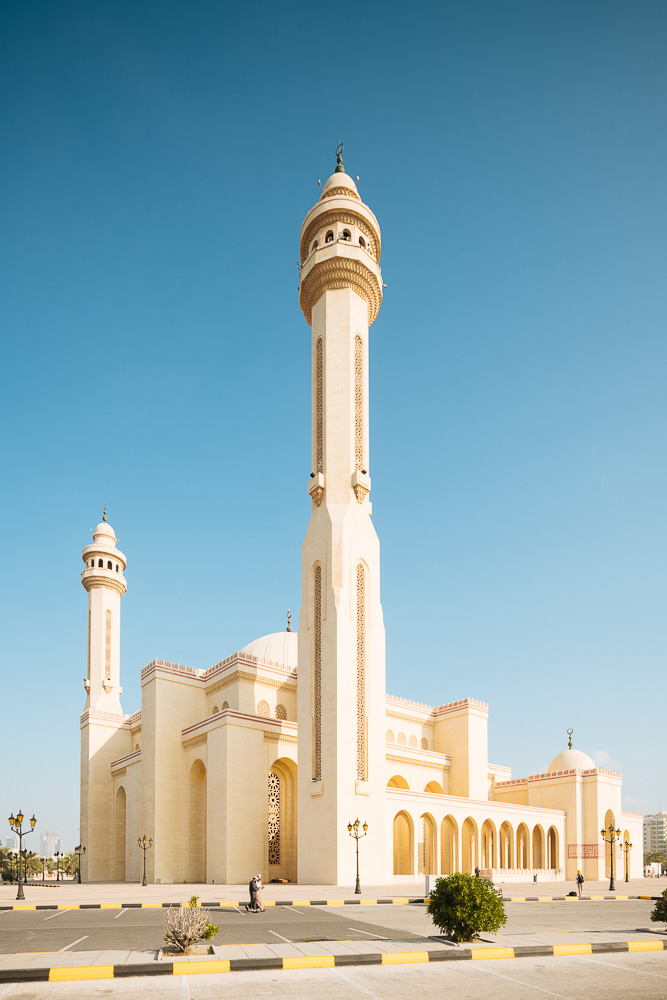 Exterior of Al Fateh Grand Mosque, Manama, Bahrain