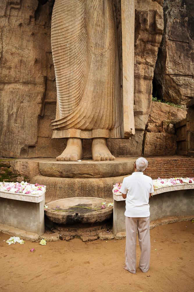 Aukana Buddha, Wayamba Palata, Sri Lanka, Asia