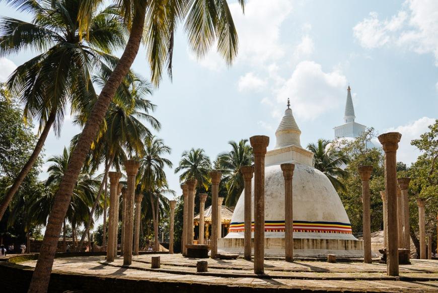 Ambasthale Dagoba, Mihintale, North Central Province, Sri Lanka, Asia