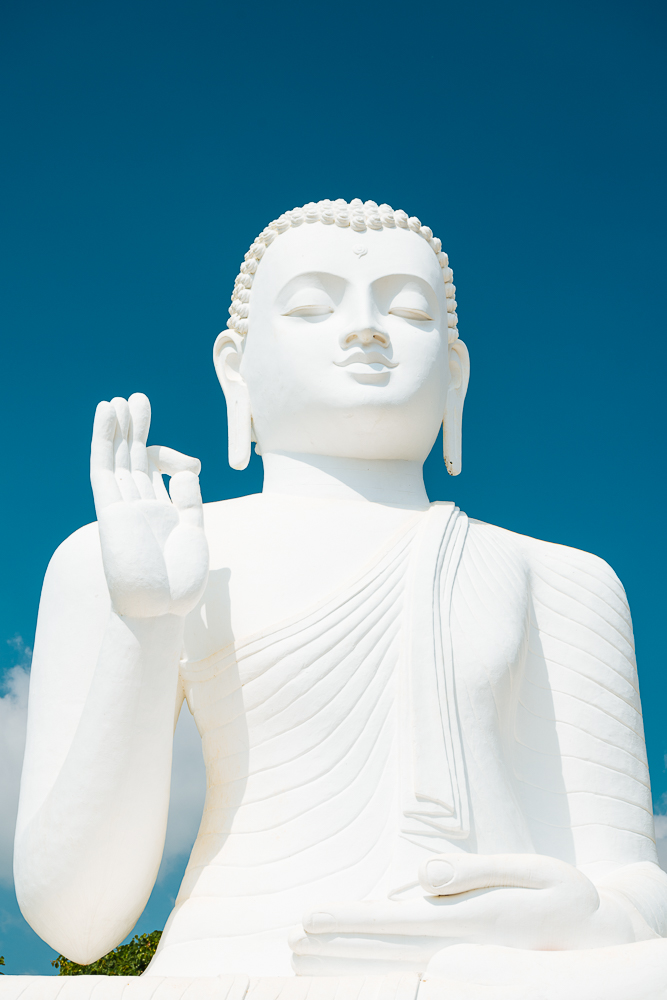Buddha Statue, Mihintale, North Central Province, Sri Lanka, Asia