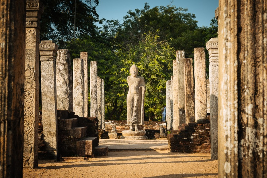 Recumbent House, Polonnaruwa, North Central Province, Sri Lanka, Asia