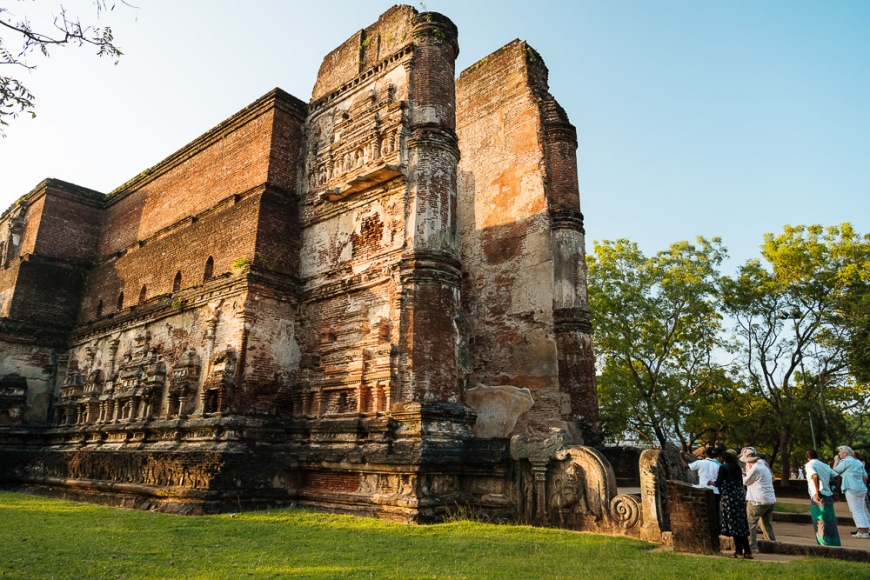 Lankatilaka Temple, Polonnaruwa, North Central Province, Sri Lanka, Asia
