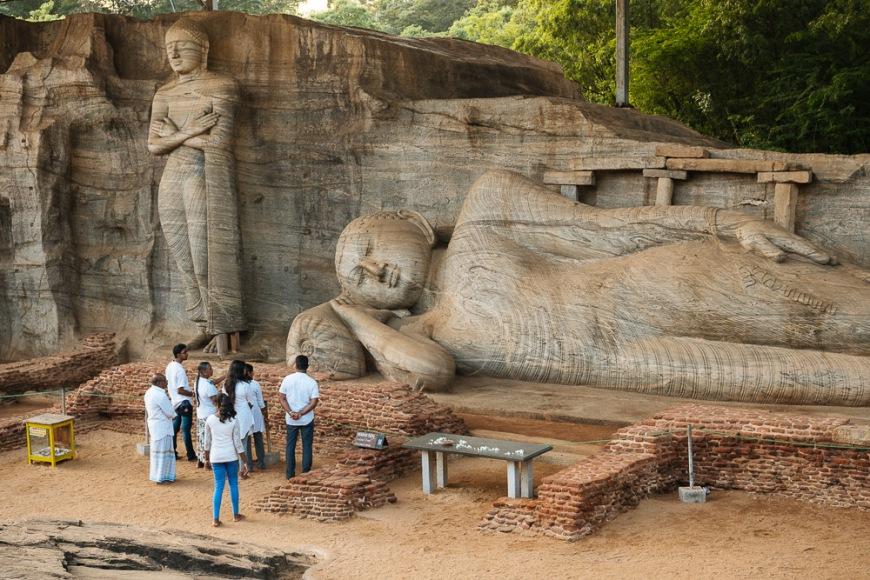 Rankoth Vihara Temple, Polonnaruwa, North Central Province, Sri Lanka, Asia