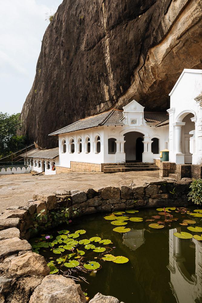 Dambulla Rock Cave Temple, Central Province, Sri Lanka, Asia
