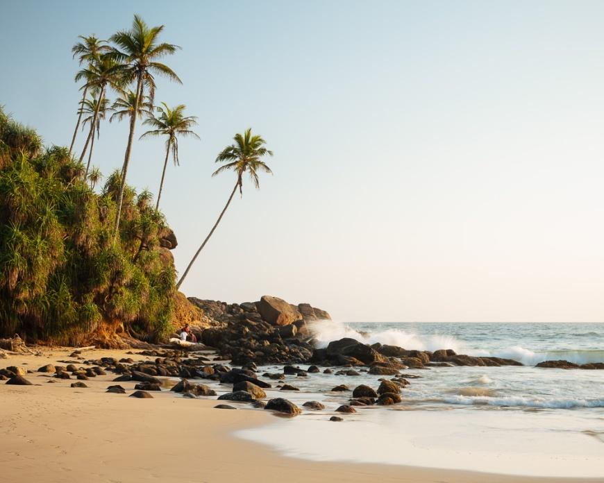 Talalla Beach, South Coast, Sri Lanka, Asia