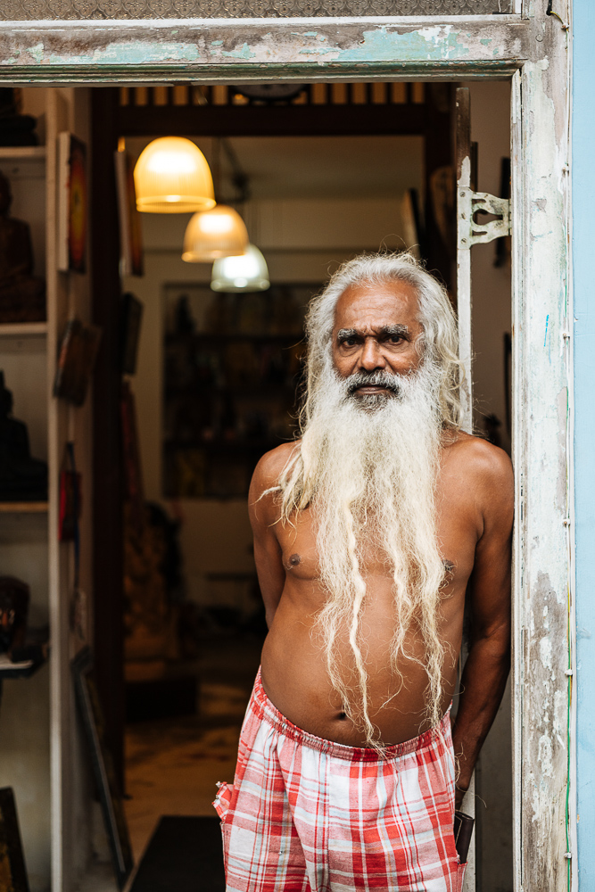 Portrait of Sunil, Galle, South Coast, Sri Lanka, Asia
