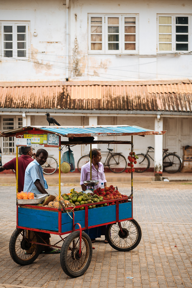 Fruit Stall, Galle, South Coast, Sri Lanka, Asia