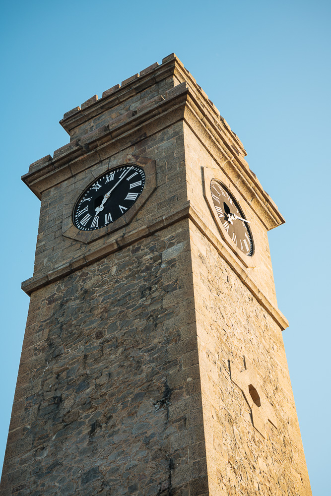 Clocktower, Galle, South Coast, Sri Lanka, Asia