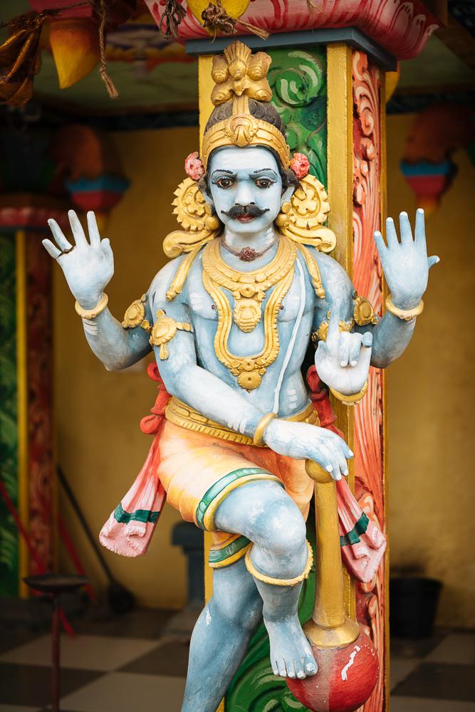 Hindu Temple, Jaffna, Northern Province, Sri Lanka, Asia