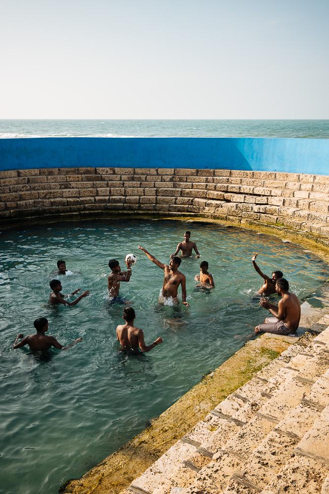 Keerimalai Sacred Water Spring, Jaffna, Northern Province, Sri Lanka, Asia