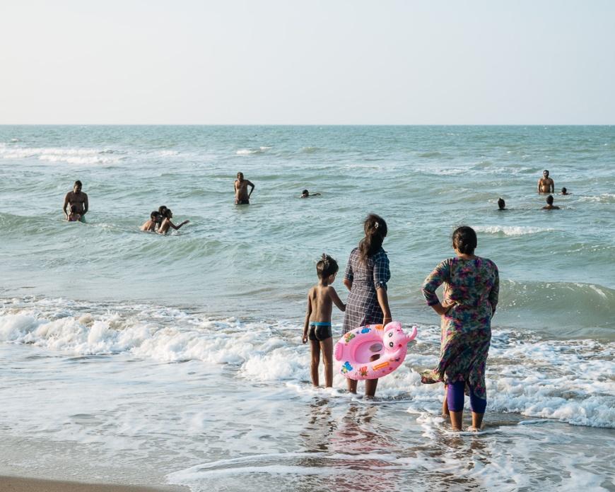 Casuarina Beach, Karainagar, Northern Province, Sri Lanka, Asia