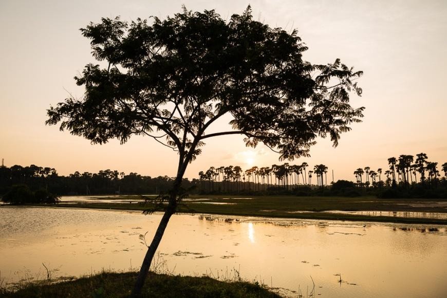 Sunset, Karainagar, Northern Province, Sri Lanka, Asia