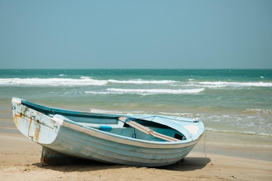 Beach, Delft Island, Northern Province, Sri Lanka, Asia