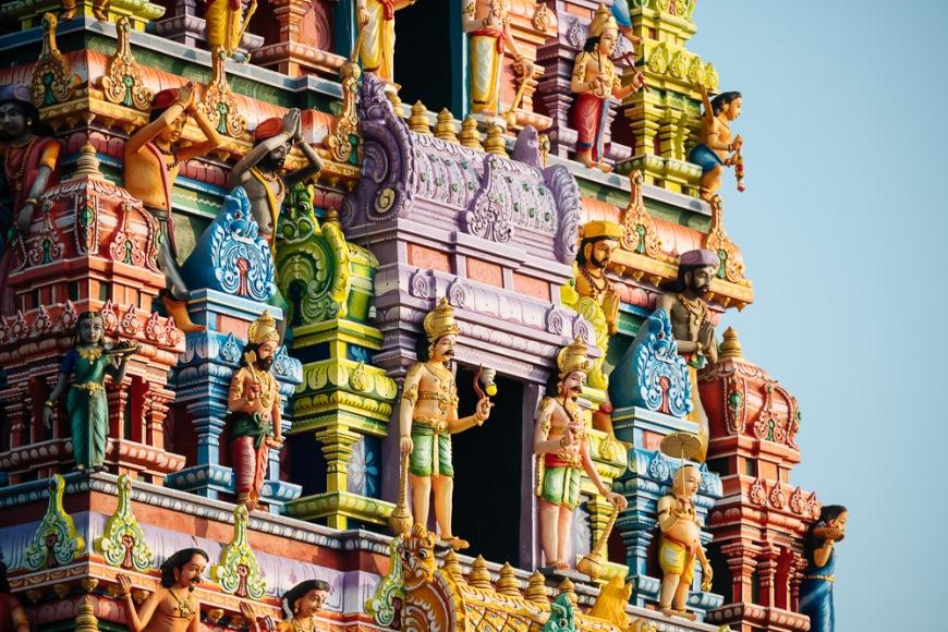 Velanai Ayyanaar Kovil Hindu Temple, Island of Kayts, Northern Province, Sri Lanka, Asia