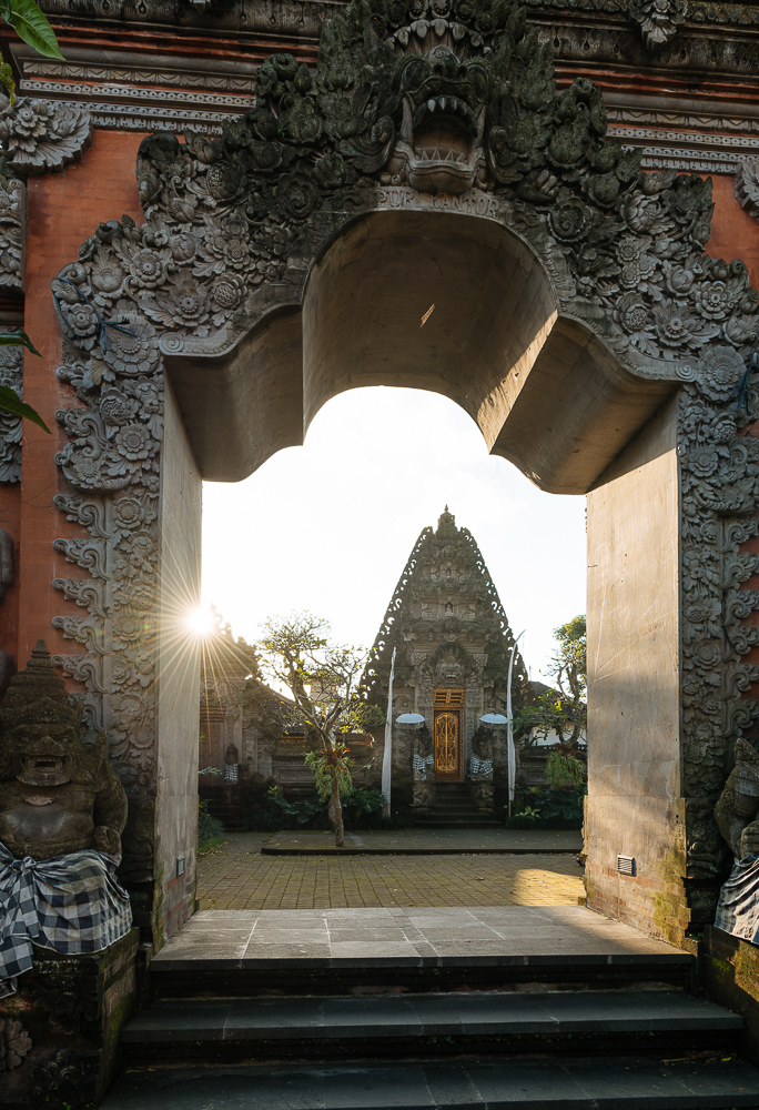Pura Desa Ubud Water Palace, Ubud, Bali, Indonesia
