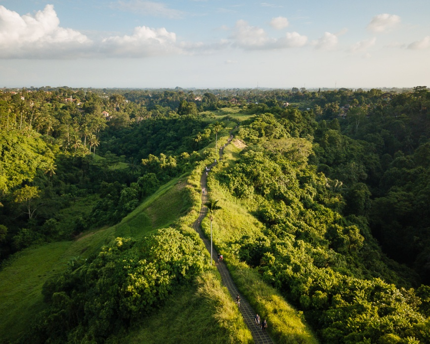 Campuhan Ridge, Ubud, Bali, Indonesia