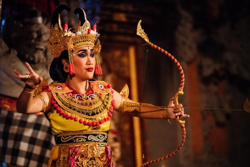 Traditional Balinese Dance Performance, Ubud, Bali, Indonesia