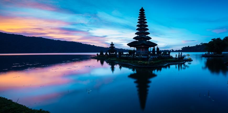 Pura Ulun Danu Beratan Temple, Bedugal, Bali, Indonesia